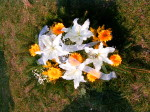 Wiązanka lilia i gerbera