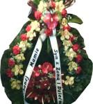 Wieniec anturium róża storczyk goździk