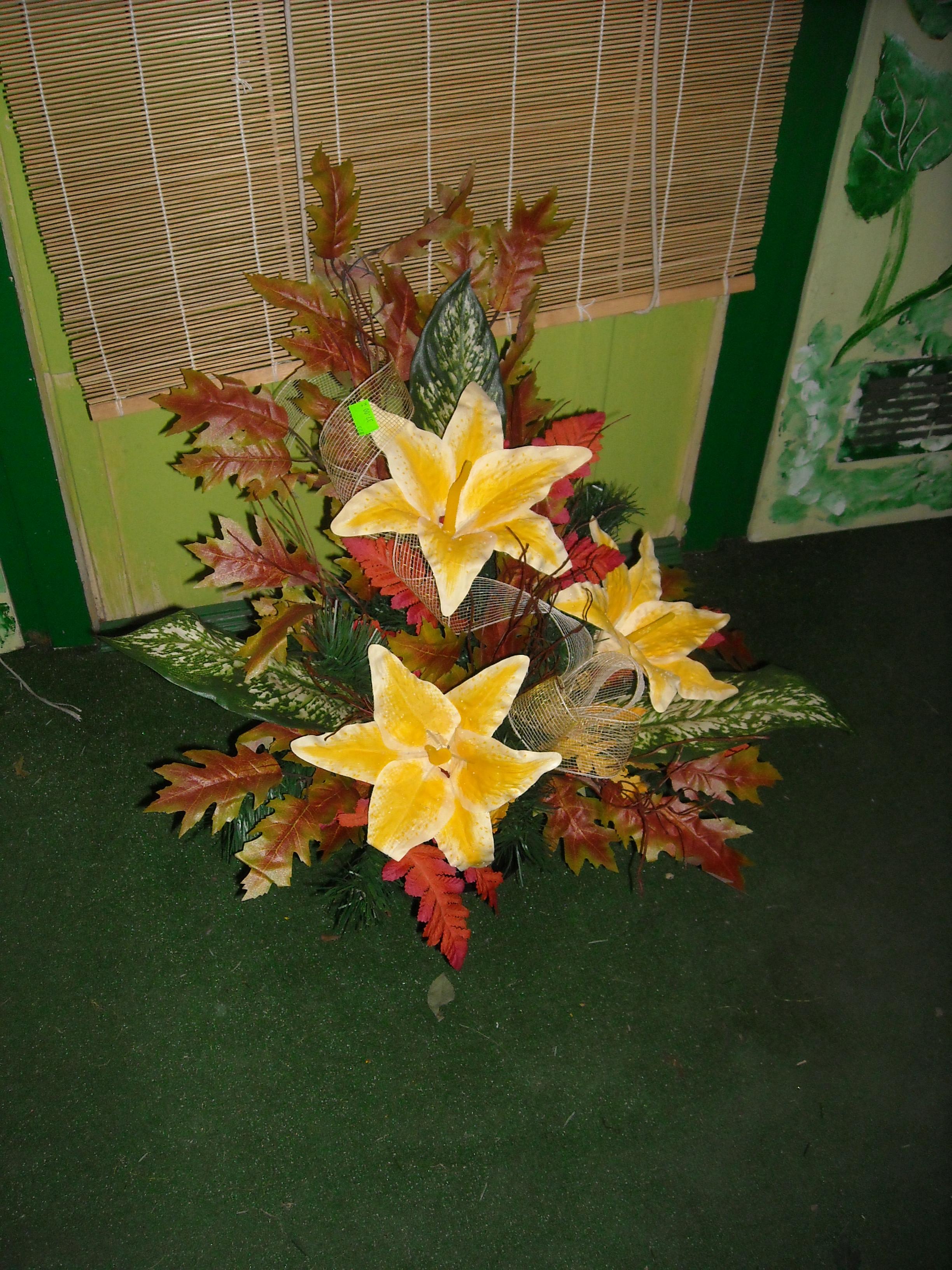 Wiązanka sztuczna lilie