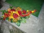 Wiązanka sztuczna róże